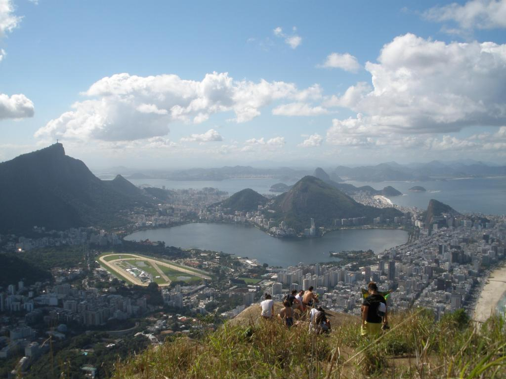 The view from Morro de Dois Irmãos (e. The Two Brothers Hill)